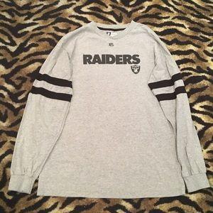 Los Angeles Raiders Long Sleeve Size Medium